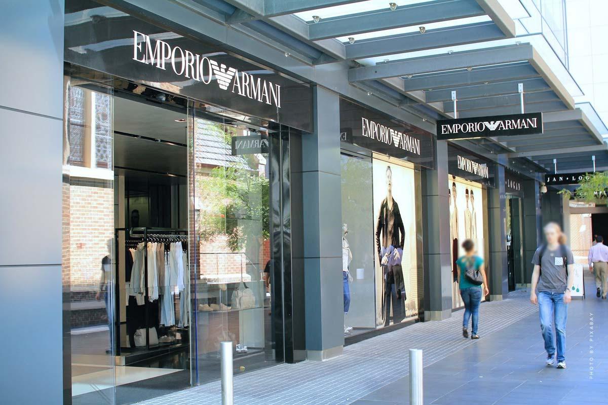 Giorgio Armani - Watches, Perfume & Sportswear EA7